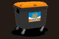 PMD (plastic, metalen, drankkartons) container vanaf 240l