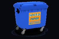 Papier/karton container vanaf 240l